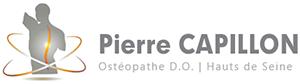 Ostéopathe à Boulogne - Capillon Pierre