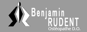 Ostéopathe D.O. à Escaudain - Benjamin Rudent