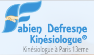 Kinésiologue Paris 13 - Defresne Fabien