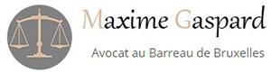 Avocat Bruxelles - Maxime Gaspard